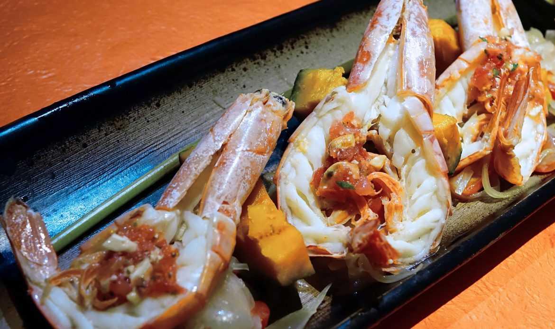 Un menu a metà strada tra Italia e Giappone: sapori umami e fusion